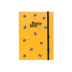 Bee Cloth A5 Notebook