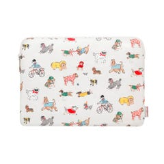 """Small Park Dogs 15"""" Laptop Sleeve"""