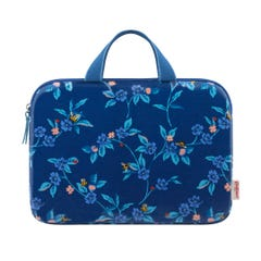 """Greenwich Flowers 15"""" Laptop Sleeve With Handle"""