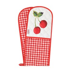 Small Gingham Double Oven Glove